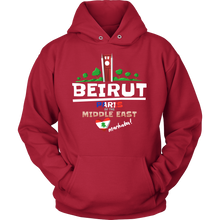 Beirut Paris of the Middle East Love Lebanon Country Hoodie