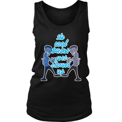 Cool Twins, Sisters and Brothers Sibling Women's Tank