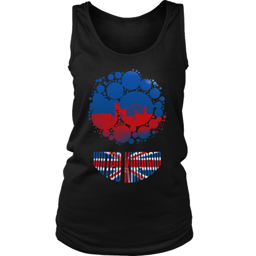 United Kingdom Skyline Horizon Sunset Love Country Women's Tank
