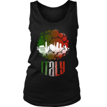 Italy Skyline Horizon Sunset Love Italian Women's Tank