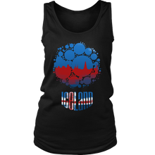 Iceland Skyline Horizon Sunset Love Country Women's Tank