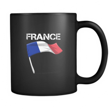 France Graphic Patriotic Vintage Flag Mug