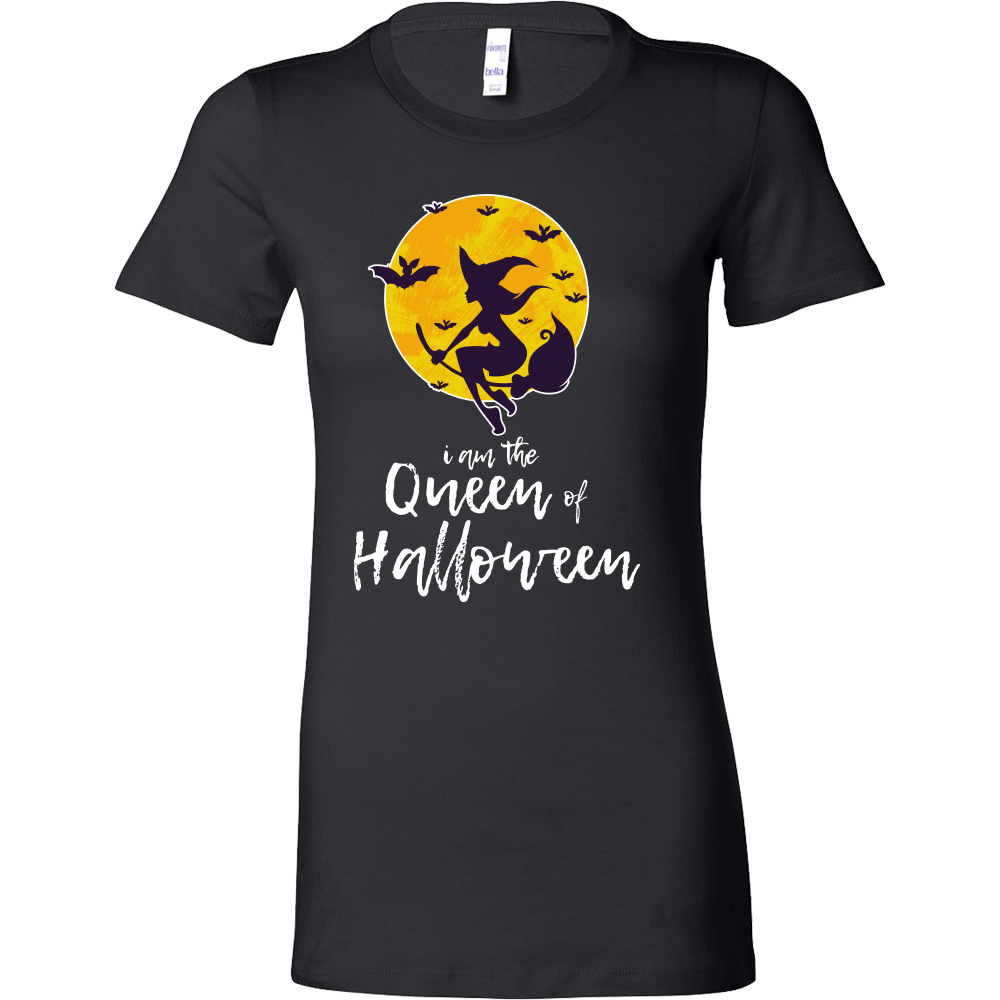 Queen of Halloween Night Happy Halloween Bella T-Shirt
