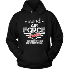 Military, Women's Proud Mom of Her Military Son U.S.A Hoodie