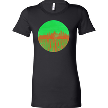 Phnom Penh Skyline Horizon Sunset Love Cambodia Bella Shirt