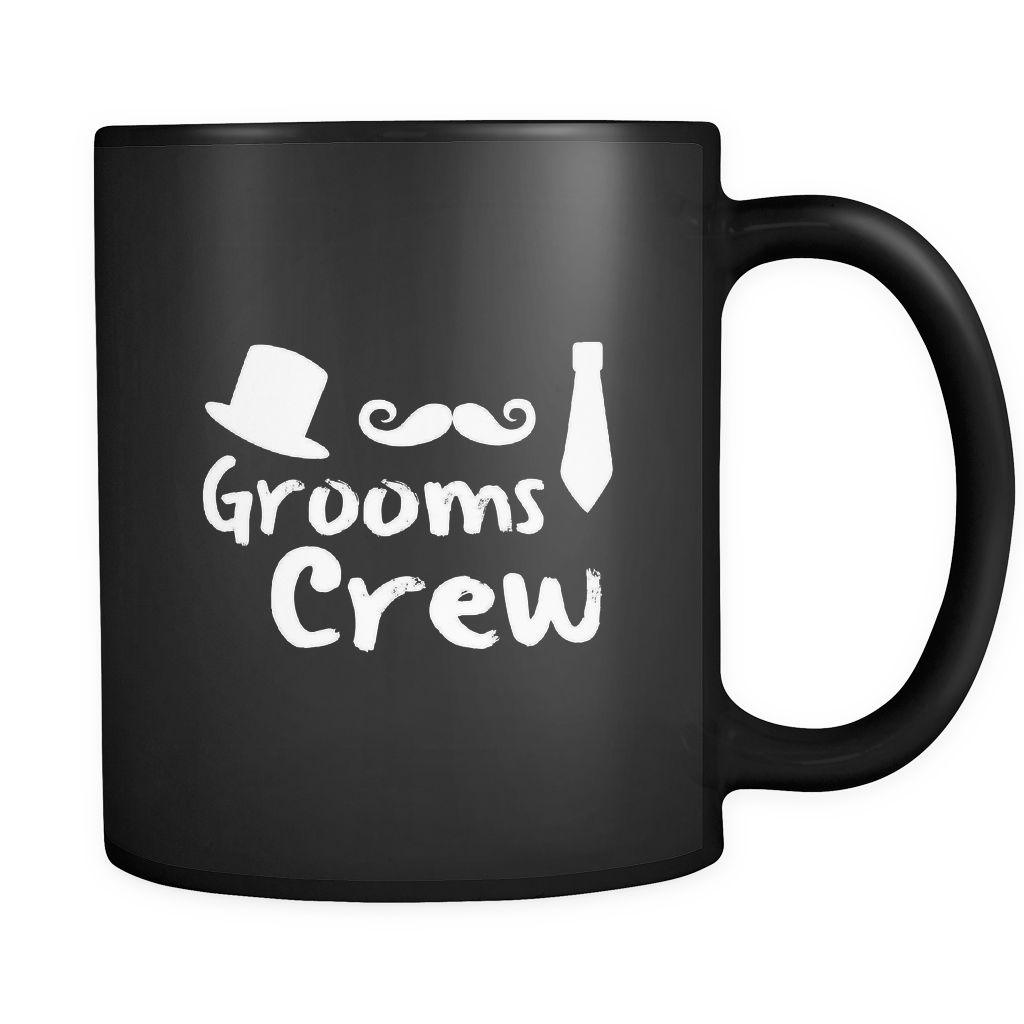 Grooms Crew Funny Bachelor Wedding Party 11oz Mug