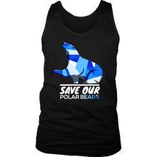 Save Our Polar Bears,Endangered Animal Love Bears Tank