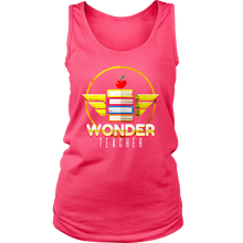 Stunning Wonder Teacher Novelty Women's Tank Top Shirt