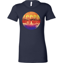 Accra Skyline Horizon Sunset Love Ghana Bella Shirt