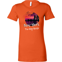 New York The Big Apple Skyline City Love Country Bella Shirt