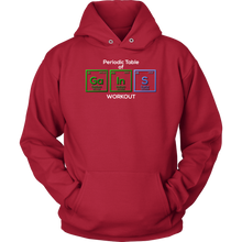 Periodic Table Science Funny Workout Hoodie