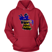 Teachers Love Brains Funny Teacher Apparel