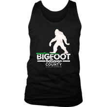 Bigfoot Believer County California Witty,Funny Gift Men's Tank