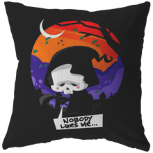 Halloween Night Happy Halloween Skeleton Pillow