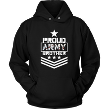Proud Military Brother Hoodie