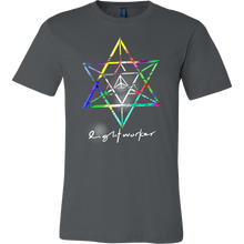 Lightworker Merkaba Sacred Geometry Abstract T Shirt V2.0