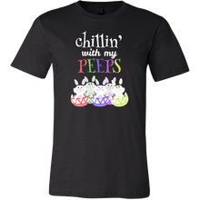 Chilling with my Peeps Cute Funny Bunny Premium T-Shirt