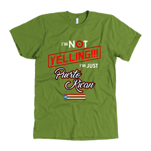 Funny Quote on Puerto Rican Tshirt 'I'm Not Yelling, I'm Puerto Rican'