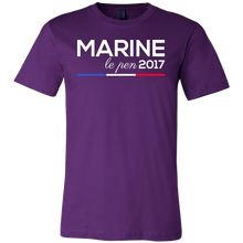 French Marine La Pen 2017 Political Support T-shirt