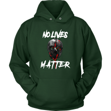 No Lives Matter Gory Horror Quote Tank and Hoodie