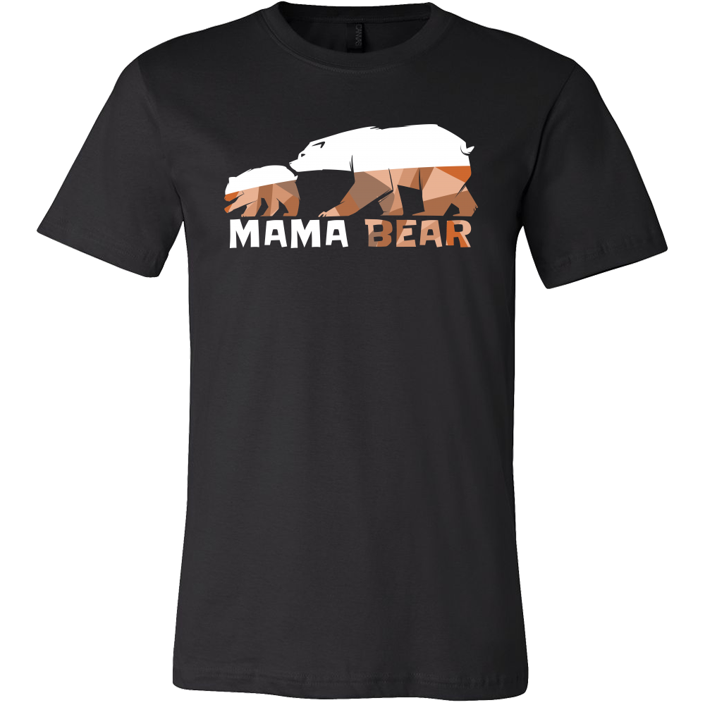Mama Bear, Matching Family Bear Animal Camping Baby T-shirt