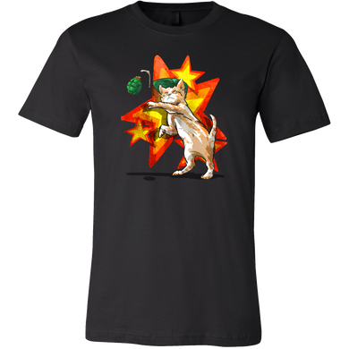 Cat Patrol Ready for Action Modern Design Shirt