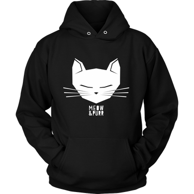 Meow and Purr Pet Cat Kitty Hoodie