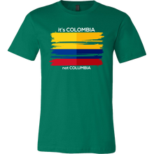 Colombia T-shirt Colombian Flag Tee Travel Vacation Souvenir T shirt