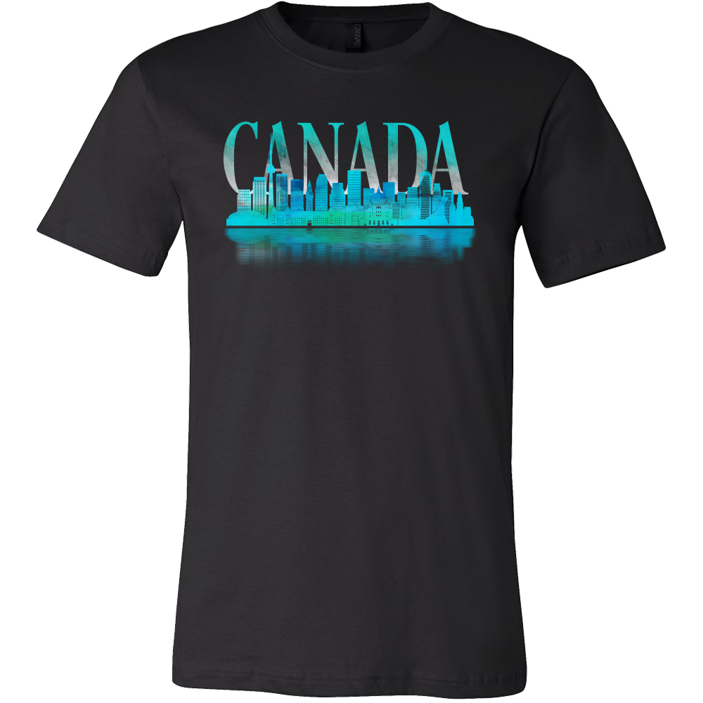 Canada Skyline Horizon Sunset Love Everything American Tee