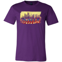 Doha Skyline Horizon Sunset Love Qatar Gift T-shirt