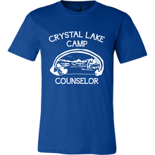 Camp Tshirts - Camp Crystal Lake Counseler Quote Design Tshirt