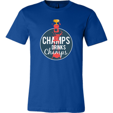 Champs Drink Champs Champagne Drinkers T-shirt