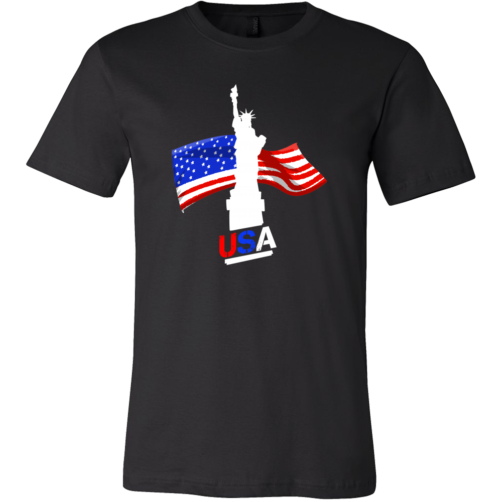 United States Of America USA Flag Tourist Souvenir T-shirt
