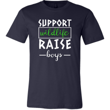 Support Wildlife, Raise Boys Cool Mama, Mums and Dads T Shirt