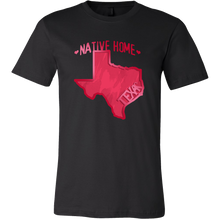 Love Texas State Native Home Map Outline Souvenir Gift T-shirt