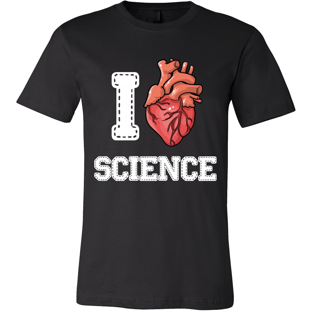 'I Love Science' Science Tshirt