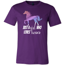 Just a Girl Who Loves Horses Animal Love T-shirt
