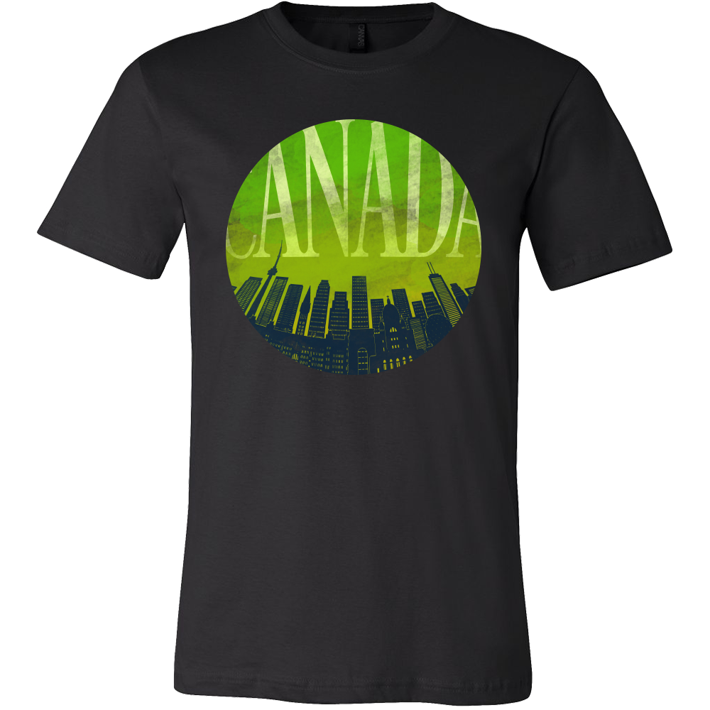 Canada Skyline Horizon Sunset Love Everything American T-shirt