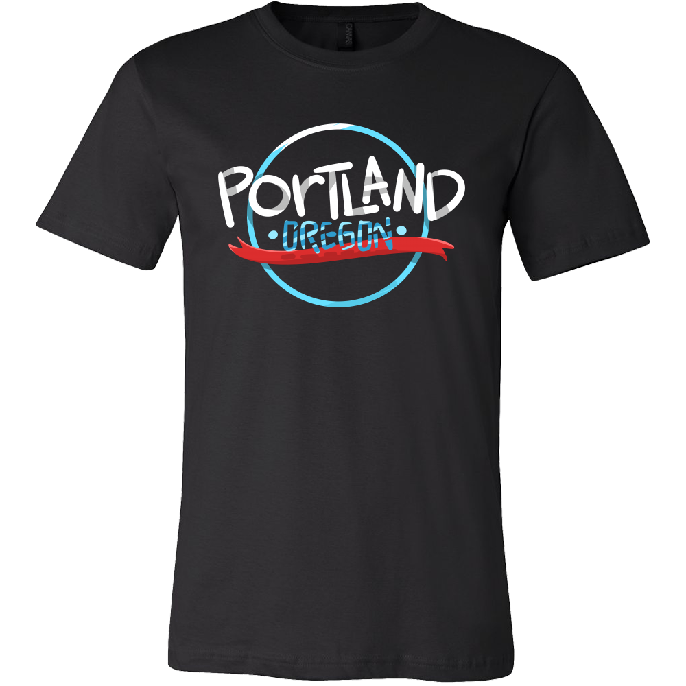 Portland Oregon U.S.A My Home Love Portland T Shirt