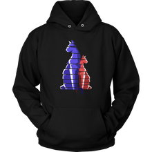 Cat Stripes Picture on Cool Cat Hoodie