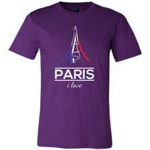 I Love Paris, France, French and Eiffel Tower T-shirt