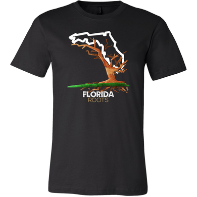 Native Root Land Florida US State Hometown T-Shirt