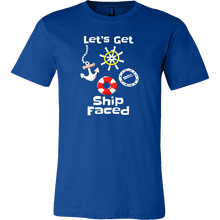 Lets Get Ship Faced Ocean Cruise Ship Vacation T-Shirt