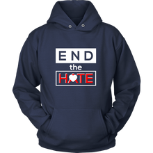 End the Hate,Awareness Bullying,Racism Tank and Hoodie