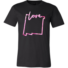 Love New Mexico State Flag Map Outline Souvenir Gift T-shirt