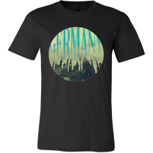 Germany Skyline Horizon Sunset Love Everything German T-shirt
