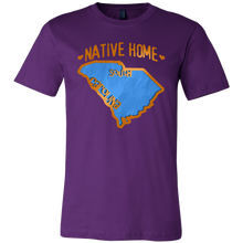 Love South Carolina State Native Home Map Outline Souvenir Gift T-shirt