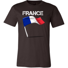 France Graphic Patriotic Vintage Flag T-shirt