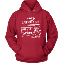 Bucket List, Beer and Ice Funny Exclusive Hoodie Collection