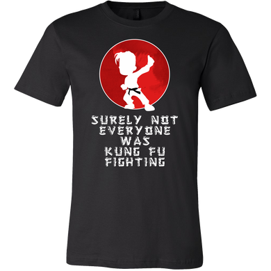 Surely Not Everybody Was Kung Fu Fighting Funny T-shirt